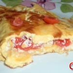 Omelette Pomodori e Formaggio