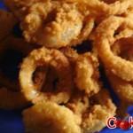 Anelli di cipolla (Onion rings) fritti