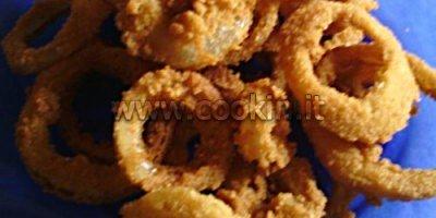 Anelli di cipolla (Onion rings) fritti 08